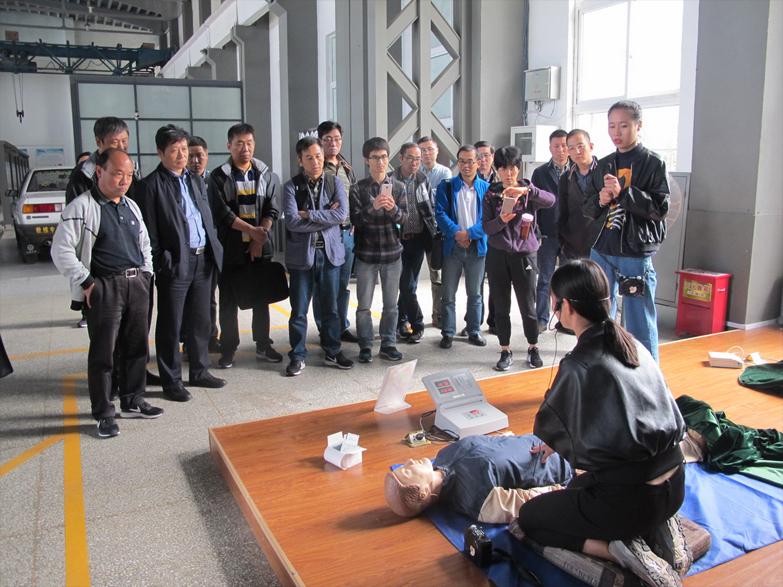 公司组织赴徐州开展安全生产教育培训